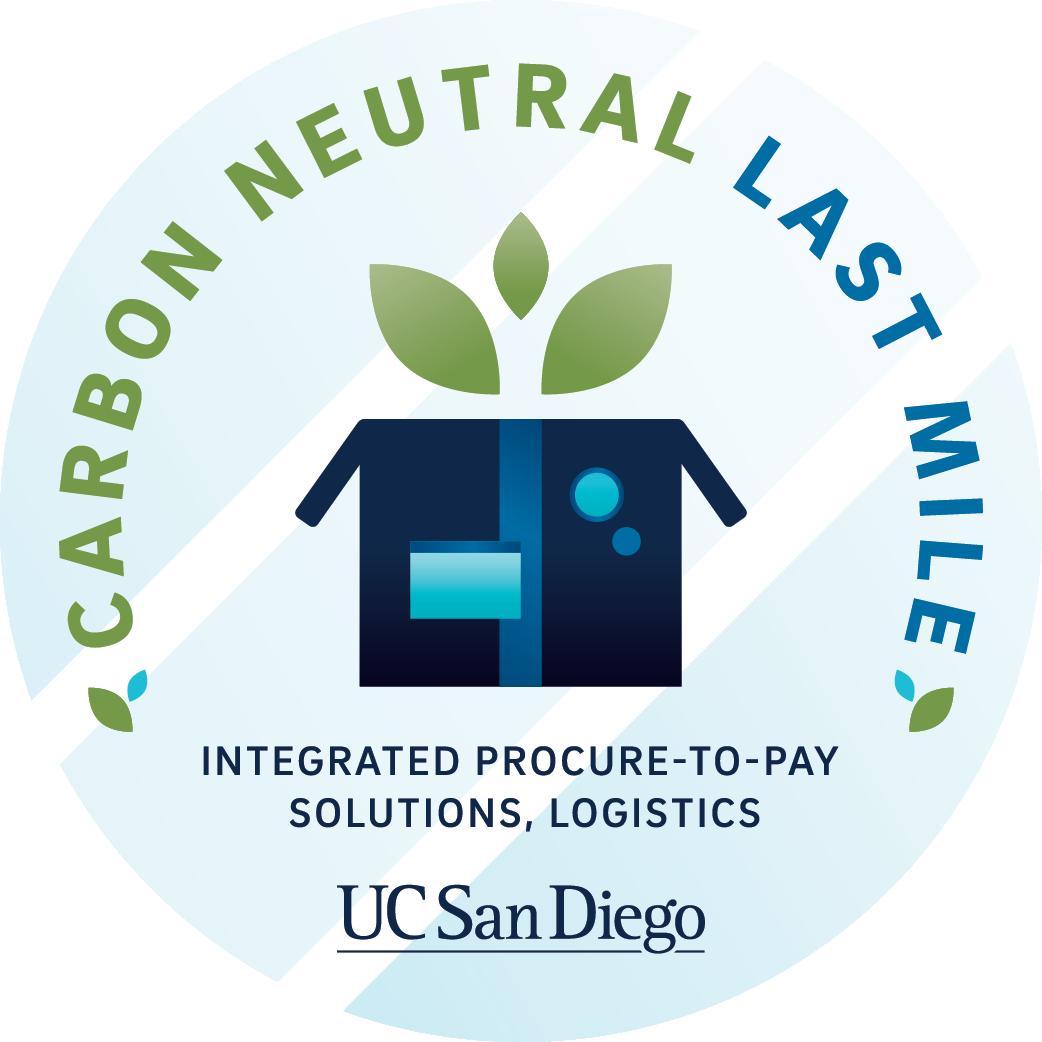 UC San Diego Carbon Neutral Last Mile IPPS Logo